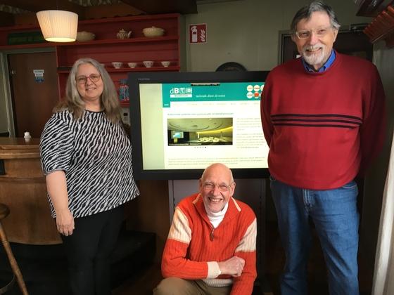 Dorpshuis krijgt LCD-display en trolley
